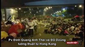 Акция протеста за демократизацию выборов в Гонконге (5.10)