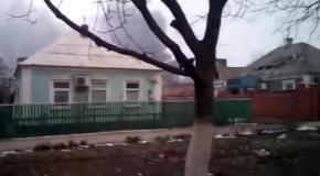 Мариуполь - Обстрел Восточного 24 января 2015