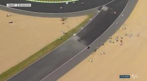 Массовый вылет на Гран-при Франции