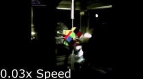 Рекорд робота по сбору кубика Рубика