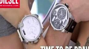 Новая коллекция наручных часов от Diesel