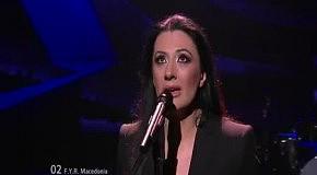 Kaliopi - Crno I Belo: второй полуфинал Евровидения 2012