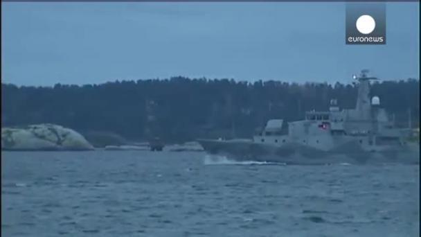 швеция обнаружила подводную лодку