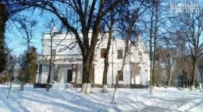 Andrushivka, Tereshchenko estate, oil painting, winter