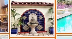 Фонтаны для дачи  Фонтан для частного дома  Ландшафтный дизайн для вашего дома