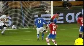 Чемпионат мира -2010. Группа F. Первый тур Италия - Парагвай - 1:1
