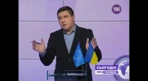 """Олег Сиротюк у програмі """"Сьогодні. Про головне"""""""
