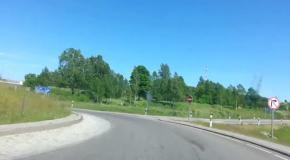 Дороги Литвы  Авто из Литвы не знают ям и ухабов