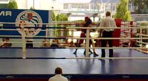турнир С.Трестина, 52 кг, Усатенко - Жиенбаев