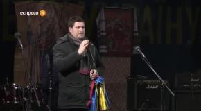 Виступ Андрія Іллєнка на Майдані в Києві