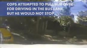 В Таиланде водитель грузовика разбил 41 машину