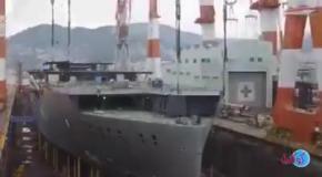Как строят большие корабли
