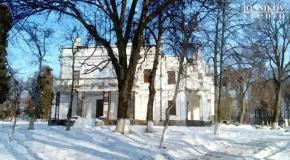 Андрушівка, садиба Терещенко, картини маслом, зима