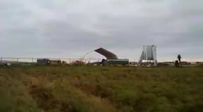 Сильный ветер повредил прототип корабля Илона Маска