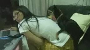 Собака любит хозяйку