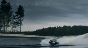 В России сняли первую рекламу Mercedez Benz