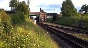 Прикол на железной дороге