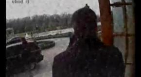 Как Янукович покидал Межигорье: видео эвакуации (камера №8)