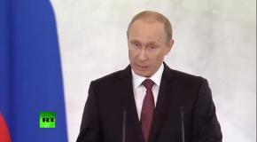Крым передали из рук в руки, как мешок картошки - Путин