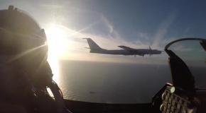Датские истребители перехватили российский бомбардировщик