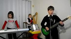 Rammstein: Sonne - кавер детского ансамбля