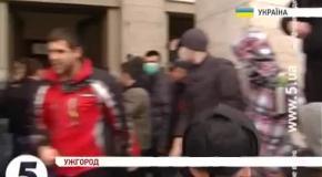 Как проходили захваты административных зданий в регионах Украины
