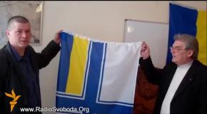 Активисты спасли из оккупированного Крыма государственные символы украинских военных