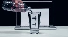 8 прикольных трюков с водой.