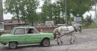 Как ездит Запорожец без бензина