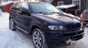 Чип тюнинг отзыв - BMW X5 2003 3 0d - Добавлена мощность