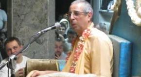 Лекция Шрилы Ниранджаны Свами Гаура Пурнима 2015 Часть 2