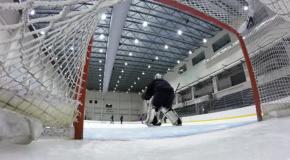 На льду с П. К. Саббан