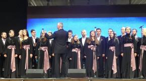 Хмельницький муніципальний камерний хор виконав відомий хіт Скрябіна