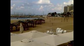 (6-6)  Тель-Авив  Осень 2017  Пустые пляжи