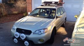 Чип тюнинг отзыв - Subaru Outback 2007 2 5 - Удален катализатор физически-программно - Добавлена мощность