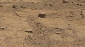 Mars Panorama Curiosity rover Martian solar day 2553