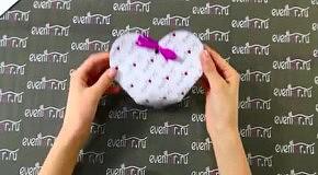 Коробка в форме сердца своими руками