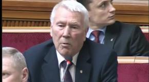 Виступ Олександра Шевченка на сесії ВРУ 18 04 2013