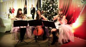 В лесу родилась ёлочка - струнное трио Violin Group DOLLS