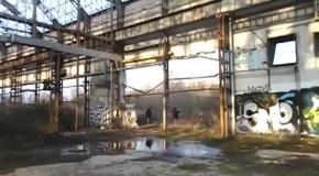 Заброшенный завод автомобилей