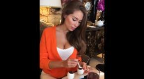 Красотка дня: обаятельная модель Галина Миргаева