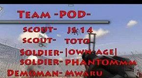 team -POD- frag movie