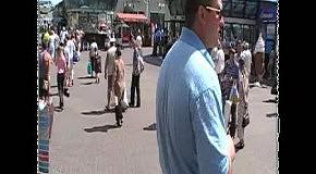 Уличная проповедь в Киеве