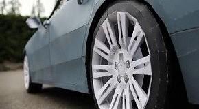 Audi A7 бумажная модель