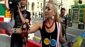 Femen шокировали Польшу