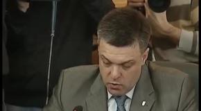 Виступ Олега Тягнибока під час Погоджувальної ради