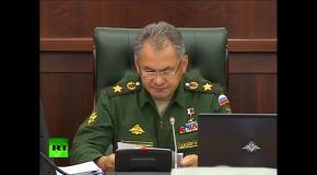 Шойгу о развертывании группировки войск в Крыму
