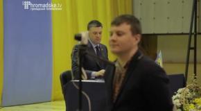 """Олег Тягнибок - кандидат в Президенти України від ВО """"Свобода"""""""