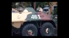 Штурм части Нацгвардии в Луганске 3 июня: ustream на территории воинской части