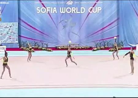Украинские гимнастки выиграли два золота этапа Кубка мира